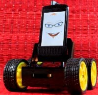 A home made robot powered by smart devices