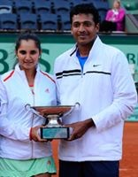 Sania-Mahesh win French Open mixed doubles