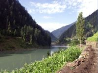 River Jhelum in Kashmir