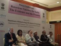 Press conference to annouce the rotavirus vaccine